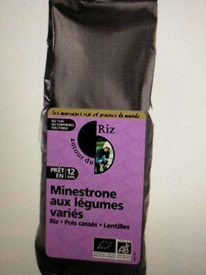 Minestrone de Riz Thaï et Pois Cassés - Product