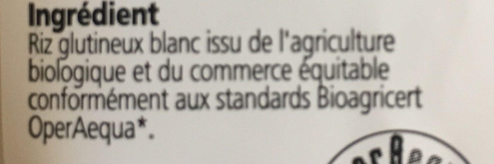 Riz Thai Blanc Sticky 500G - Ferme Et Collant à La Fois - Ingrediënten - fr