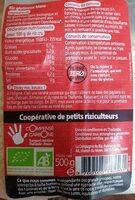 Riz Thai Blanc Sticky 500G - Ferme Et Collant à La Fois - Voedingswaarden - fr