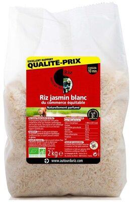 Riz Jasmin Blanc - Produit - fr
