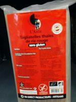 Tagliatelles Thaïes de Riz Rouge - Product