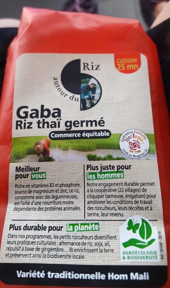 Melange Riz Germe Gaba Commerce Equitable - Product - fr