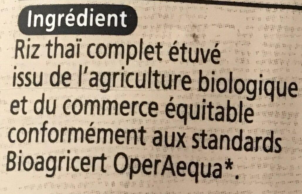 Melange Riz Germe Gaba Commerce Equitable - Ingredients - fr