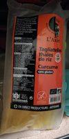 Tagliatelles Thaïes de riz Curcuma - Product - fr