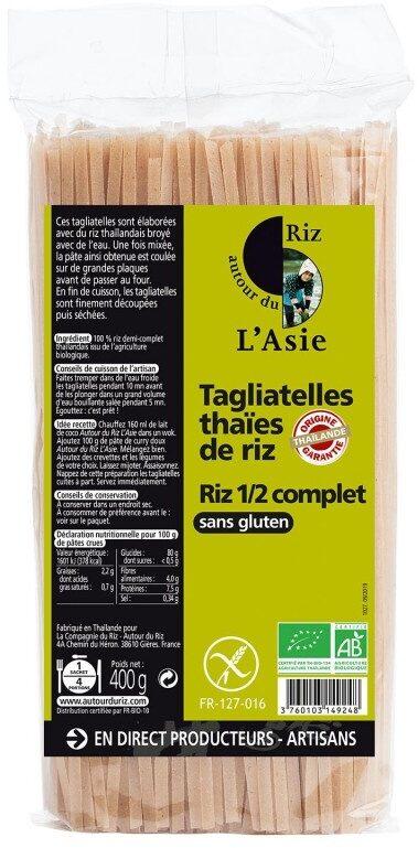 Epicerie / Céréales, Graines, Pâtes, Riz / Pâtes Demi-complètes - Product - fr