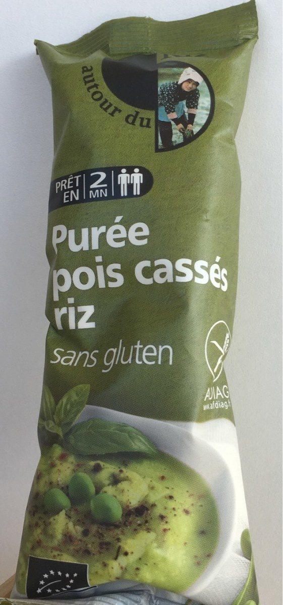 Purée pois cassés riz sans gluten - Produit