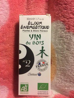 Elixir Energétique N°02 Yin Du Bois - 50 ML - Laboratoire 5 Saisons - Produit