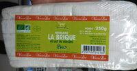 Fromage la Brique au lait du Vercors bio (25 % MG) - Product - fr