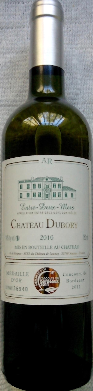 Château DUBORY 2010 - Product