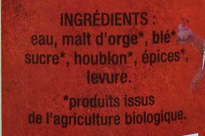 La Pampille - Ingrediënten - fr