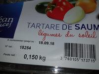 Tartare saumon légumes du soleil - Product