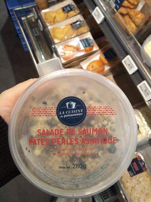 Salade de Saumon Pâtes Perles Asiatique - 4