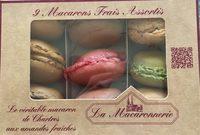 9 Macarons Frais Assortis - Produit - fr
