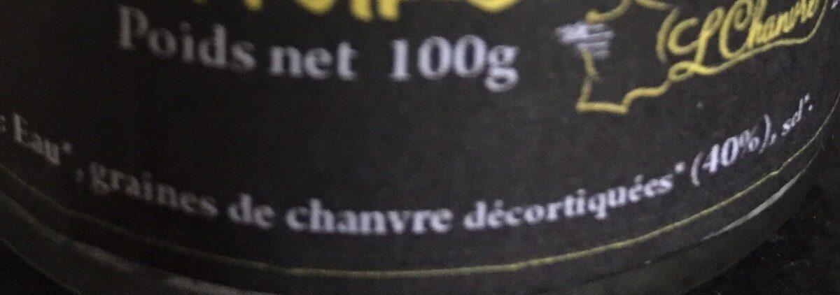 TE FOU Nature - Ingrédients - fr