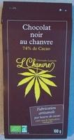 Chocolat noir au chanvre - Product