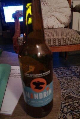 Bière artisanale blanche Mandrin - Product - fr