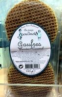 gaufres fourrées caramel - Produit