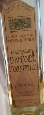 huile vierge d'amande - Product