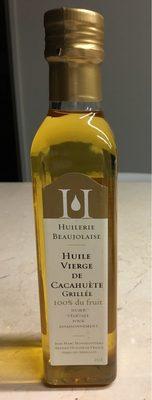 Huile Vierge Cacahuète Grillée - Product - fr
