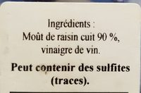 Huile beaujolaise Balsamique - Ingredients - fr