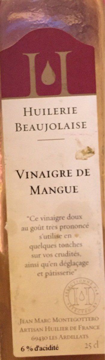 Vinaigre de mangue - Product - fr