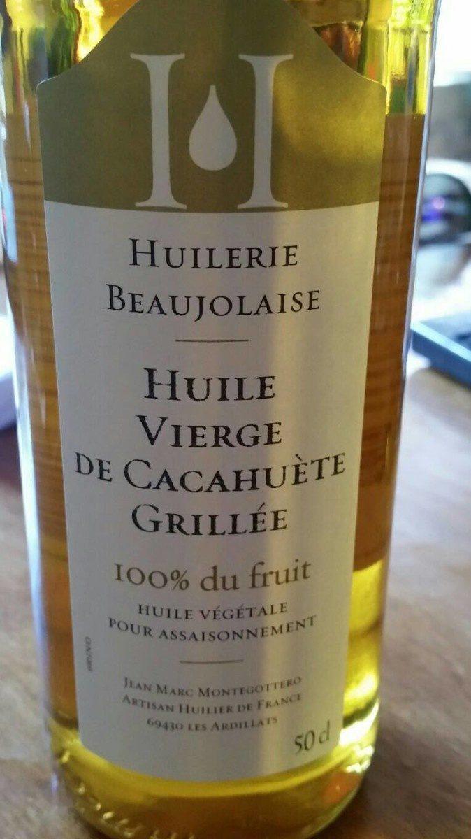 Huile vierge de cacahuète grillée - Product - fr