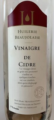 Vinaigre de Cidre - Product - fr