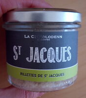 Rillettes de St Jacques - Recycling instructions and/or packaging information - fr