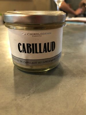Cabillaud - Product
