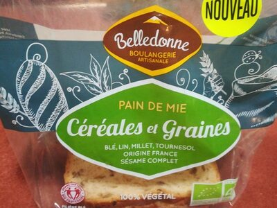 Pain de mie céréales et graines - Produit - fr