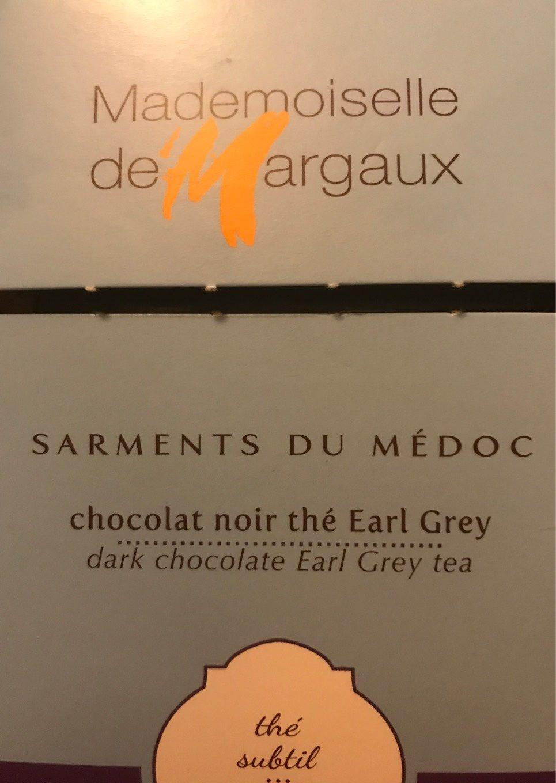 Brins De Chocolat Noir Aromatisés Thé Bergamote - Produit