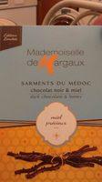 Sarments du medoc chocolat noir et miel - Ingrediënten