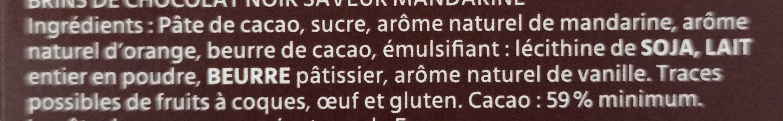 Sarments du Médoc - Ingrédients - fr