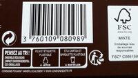 Sarments du Médoc - Instruction de recyclage et/ou informations d'emballage - fr