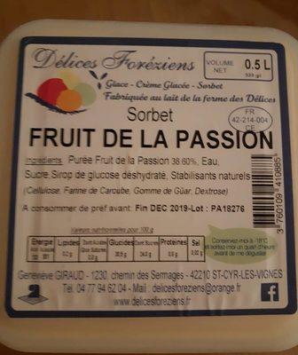 Sorbet Fruit de la Passion - Produit