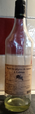Huile de pépins de raisins - Prodotto - fr