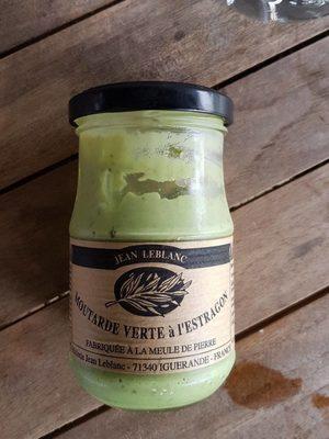 Moutarde Verte à l'estragon - Produit