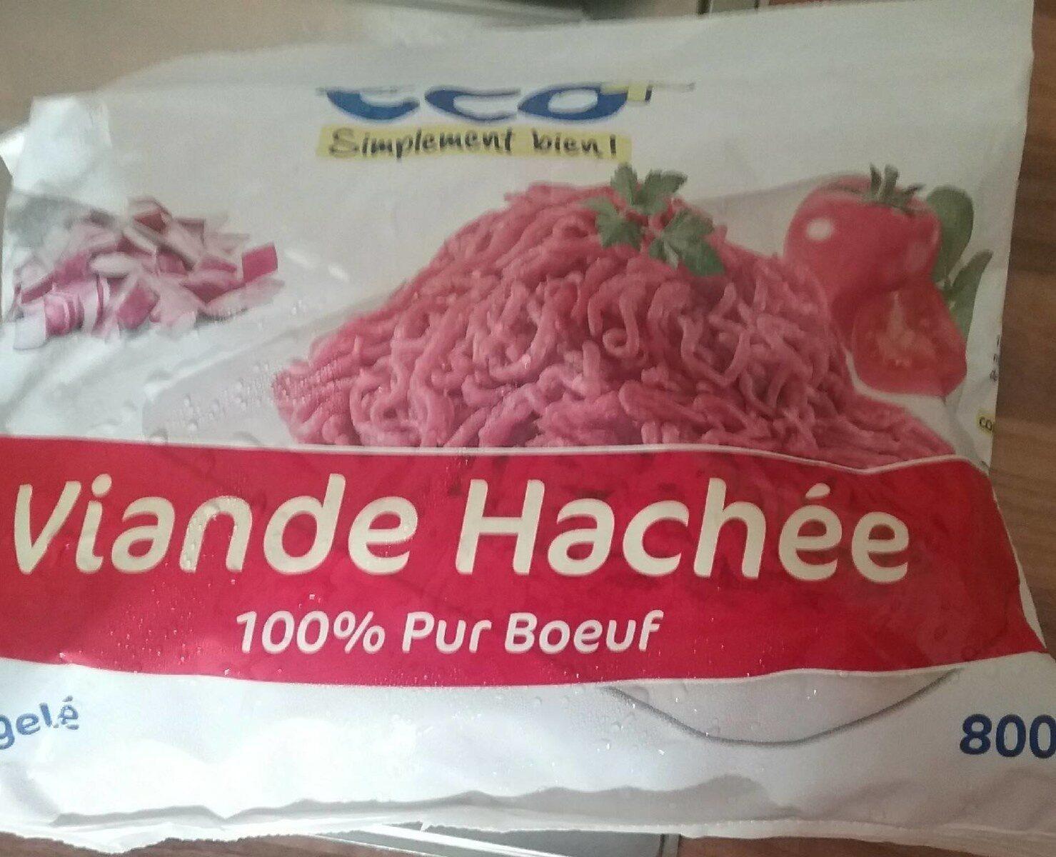 Viande hachée surgelée pur boeuf - Produit - fr