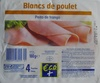 Blancs de poulet (4 Tranches) - Product