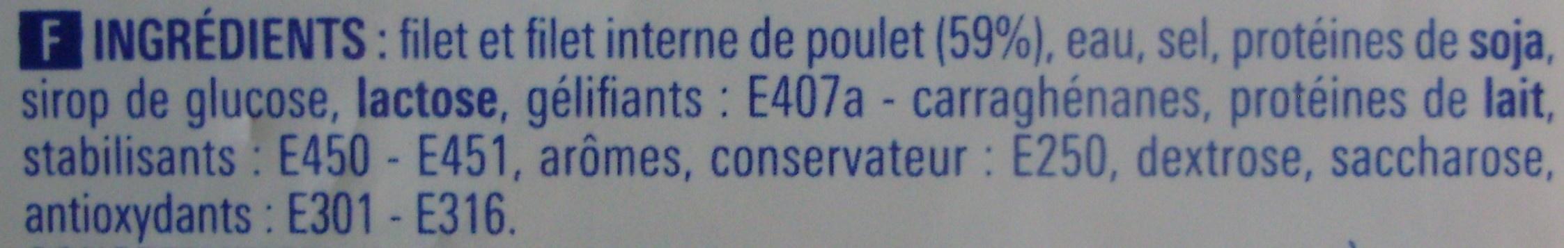 Blancs de poulet - Ingrédients - fr