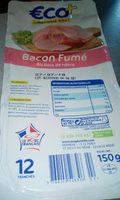 Bacon fumé au bois de hêtre (12 Tranches) - Product