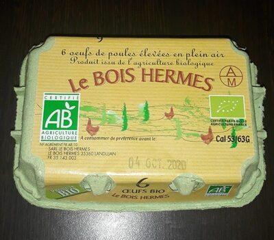 6je oeufs de poules élevées en plein air - Informations nutritionnelles - fr