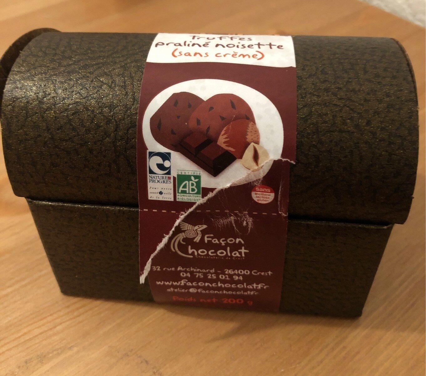Truffes praliné noisette - Produit - fr
