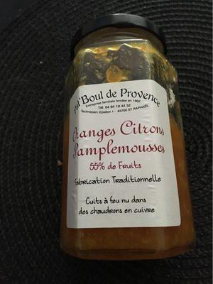 Oranges citrons pamplemousse - Product - fr