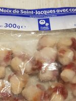 Noix de Saint-Jacques avec corail - Product - fr