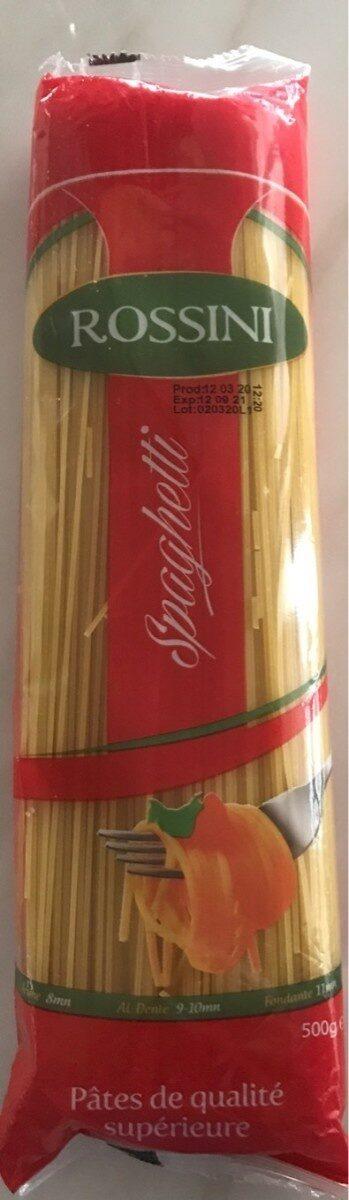 Spaghetti Rossini - Produit - fr