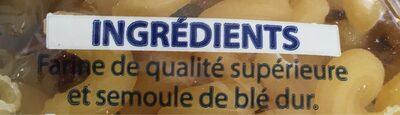 Macaroni - Ingrédients - fr