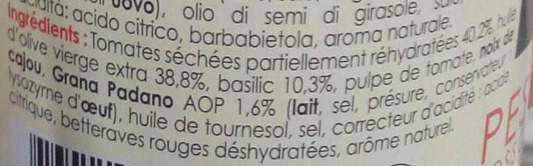 Pesto Rosso - Ingredients