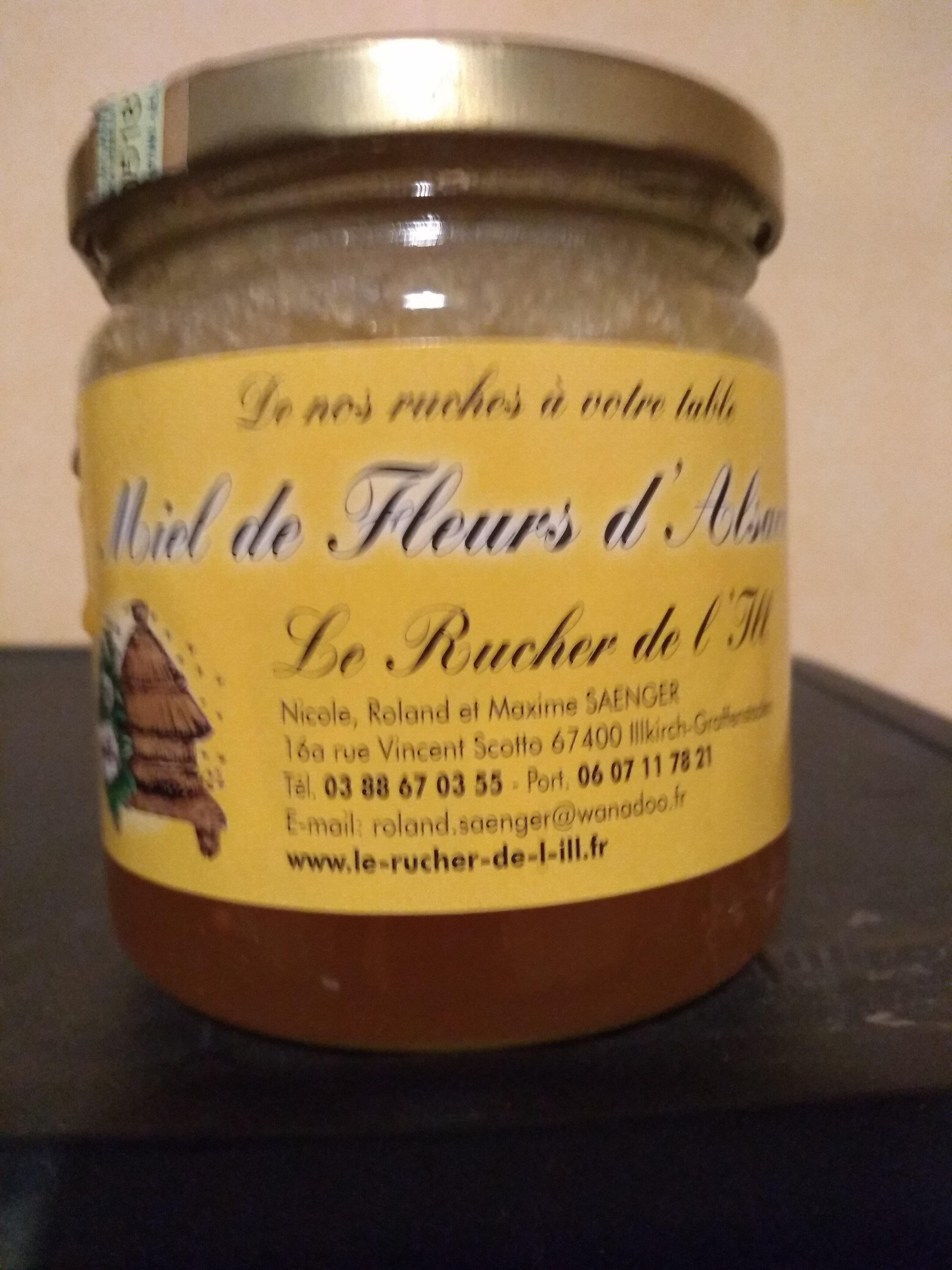 Miel de Fleurs d'Alsace - Produit - fr