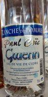 Gwenn Blanche de Pomme - Produit